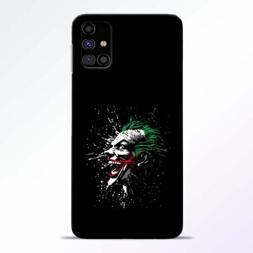 Crazy Joker Samsung Galaxy M31s Mobile Cover - CoversGap