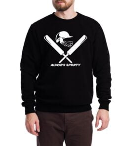 Cricket Lover Sweatshirt for Men