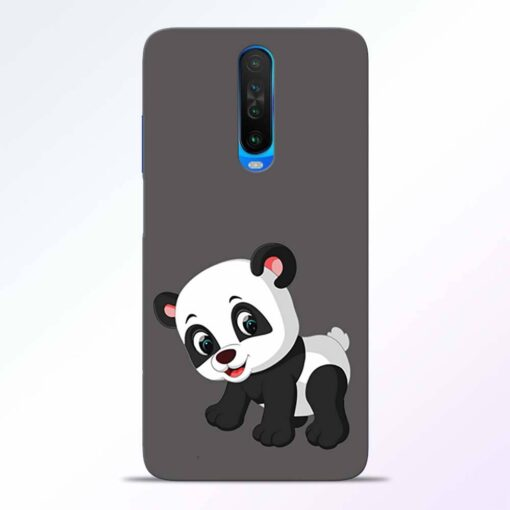 Cute Little Panda Poco X2 Back Cover