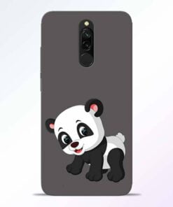 Cute Little Panda Redmi 8 Back Cover