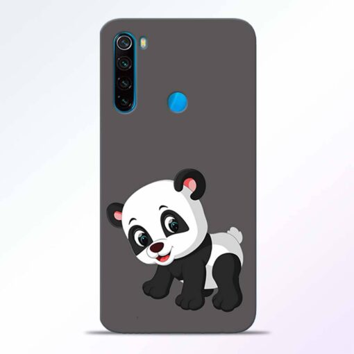Cute Little Panda Redmi Note 8 Back Cover