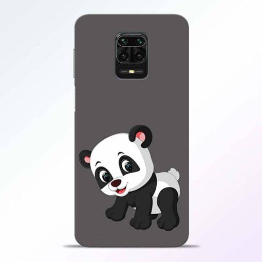 Cute Little Panda Redmi Note 9 Pro Back Cover