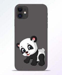 Cute Little Panda iPhone 11 Back Cover