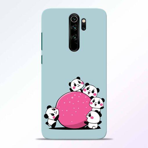 Cute Panda Redmi Note 8 Pro Back Cover