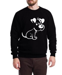 Cute Puppy Sweatshirt for Men