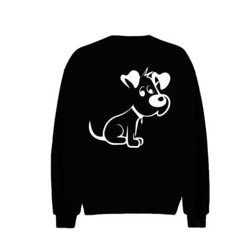 Cute Puppy Men Sweatshirt
