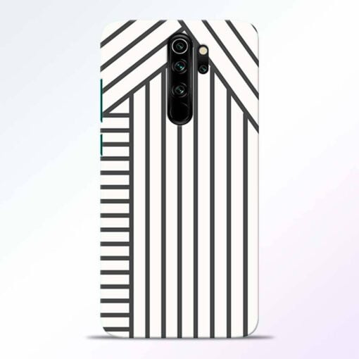 Diagonal Stripes Redmi Note 8 Pro Back Cover