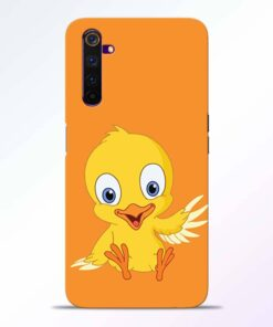 Duck Realme 6 Back Cover
