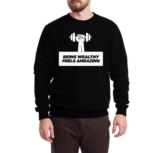 Dumbbell Sweatshirt for Men