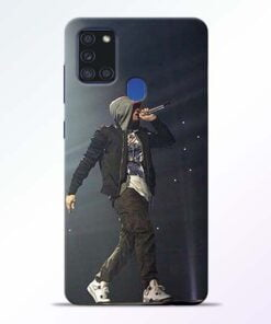 Eminem Style Samsung Galaxy A21s Mobile Cover - CoversGap