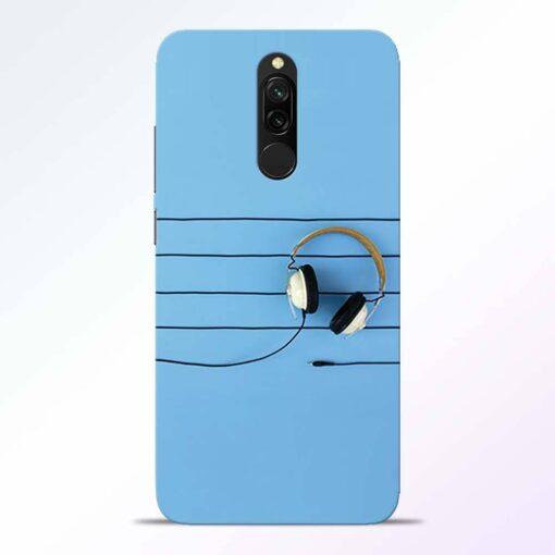 Enjoy Music Redmi 8 Back Cover