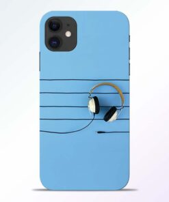 Enjoy Music iPhone 11 Back Cover