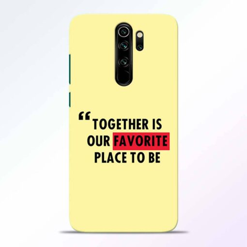 Favorite Place Redmi Note 8 Pro Back Cover