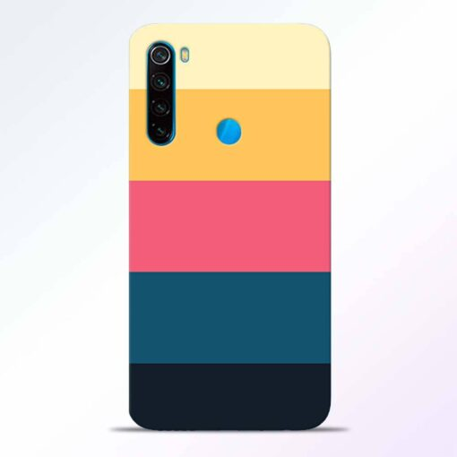 Five Stripes Redmi Note 8 Back Cover