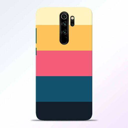 Five Stripes Redmi Note 8 Pro Back Cover