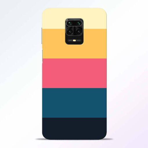 Five Stripes Redmi Note 9 Pro Back Cover