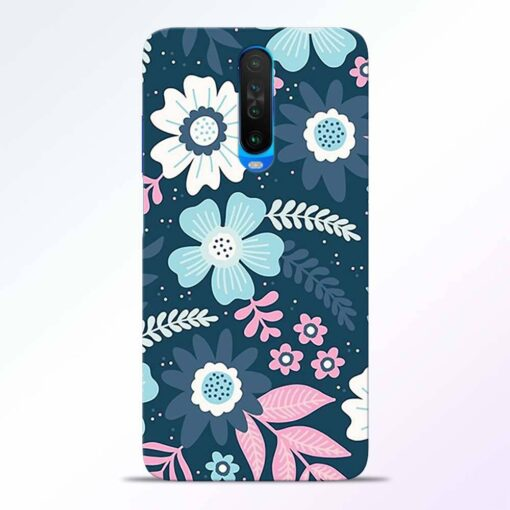 Floral Dance Poco X2 Back Cover