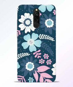 Floral Dance Redmi 8 Back Cover