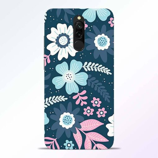 Floral Dance Redmi 8 Back Cover