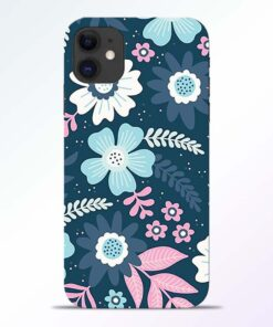 Floral Dance iPhone 11 Back Cover