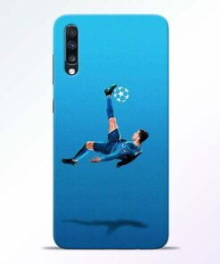 Football Kick Samsung Galaxy A70 Mobile Cover - CoversGap