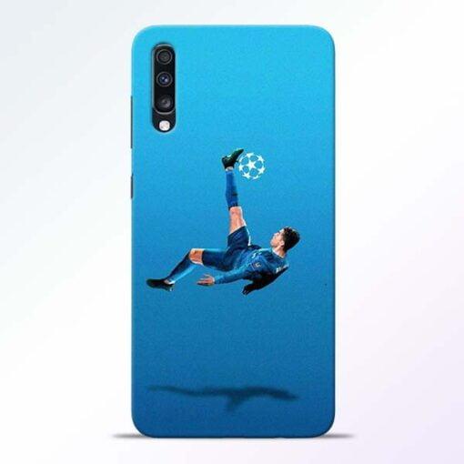Football Kick Samsung Galaxy A70 Mobile Cover - CoversGap