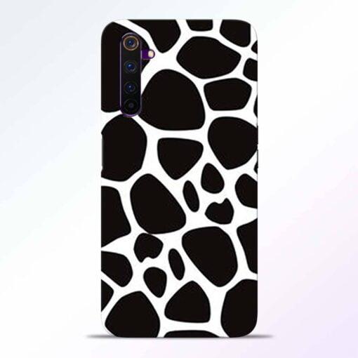Giraffe Print Realme 6 Pro Back Cover