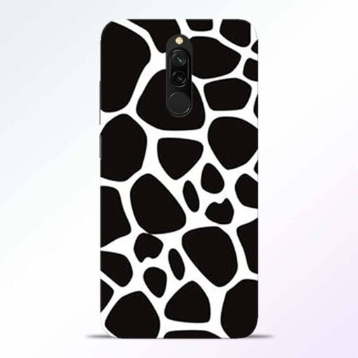 Giraffe Print Redmi 8 Back Cover
