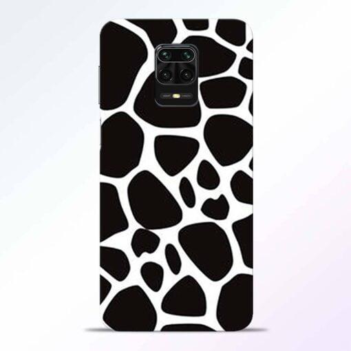 Giraffe Print Redmi Note 9 Pro Back Cover