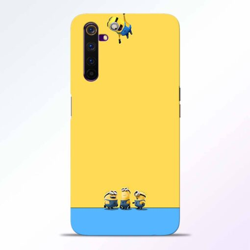 Hanging Minions Realme 6 Pro Back Cover