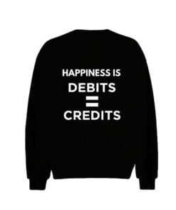 Happiness Debit Men Sweatshirt