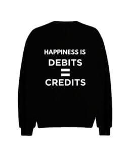 Happiness Debit Men Sweatshirt