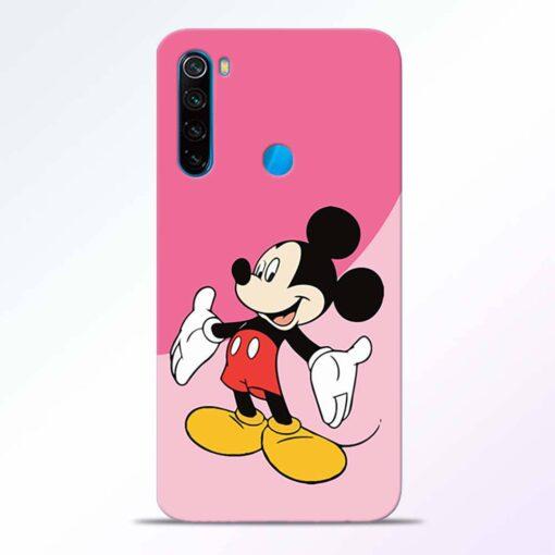 Happy Mickey Redmi Note 8 Back Cover