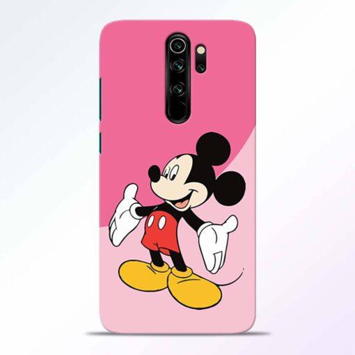 Happy Mickey Redmi Note 8 Pro Back Cover