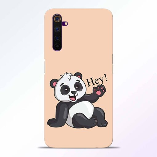 Hey Panda Realme 6 Back Cover