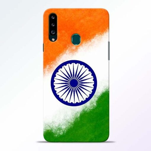 Indian Flag Samsung Galaxy A20s Mobile Cover - CoversGap