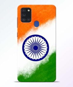 Indian Flag Samsung Galaxy A21s Mobile Cover - CoversGap