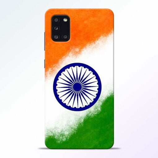 Indian Flag Samsung Galaxy A31 Mobile Cover - CoversGap