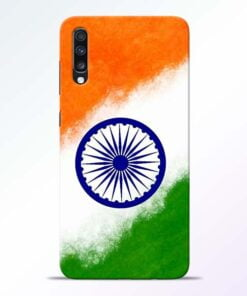 Indian Flag Samsung Galaxy A70 Mobile Cover - CoversGap