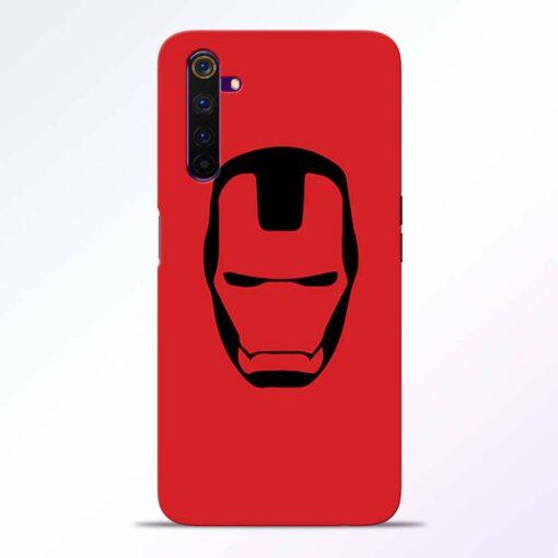Iron Face Realme 6 Back Cover