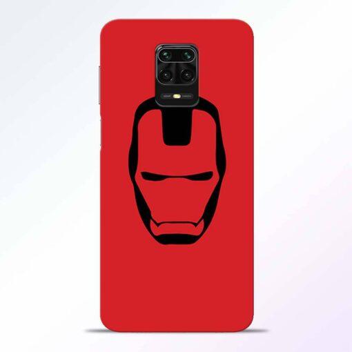 Iron Face Redmi Note 9 Pro Back Cover