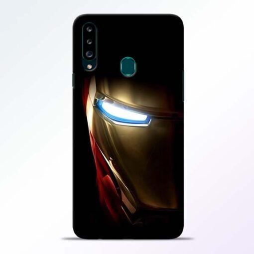 Iron Man Samsung Galaxy A20s Mobile Cover - CoversGap