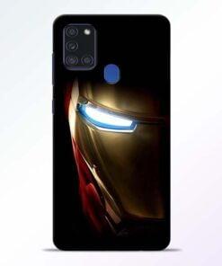 Iron Man Samsung Galaxy A21s Mobile Cover - CoversGap