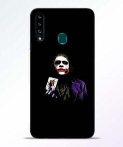Joker Card Samsung Galaxy A20s Mobile Cover - CoversGap