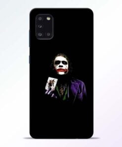Joker Card Samsung Galaxy A31 Mobile Cover - CoversGap