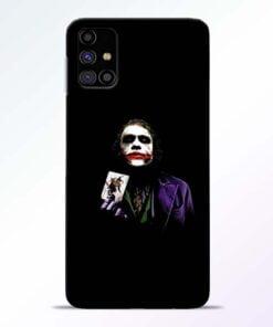 Joker Card Samsung Galaxy M31s Mobile Cover - CoversGap