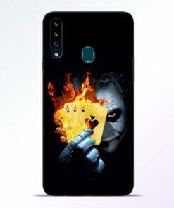 Joker Shows Samsung Galaxy A20s Mobile Cover - CoversGap
