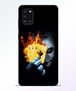 Joker Shows Samsung Galaxy A31 Mobile Cover - CoversGap