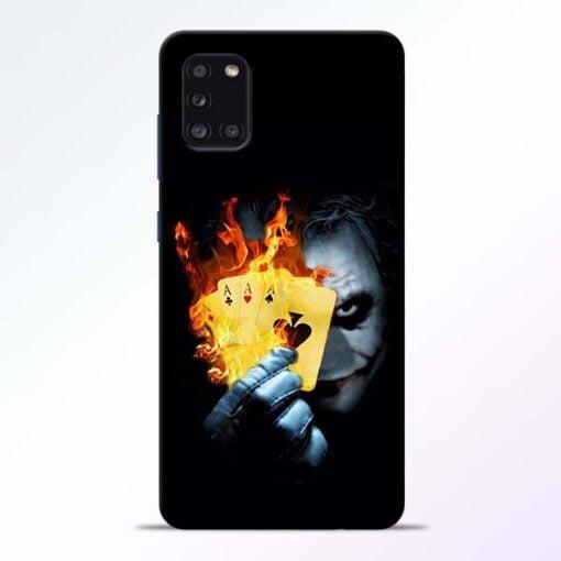 Joker Shows Samsung Galaxy A31 Mobile Cover - CoversGap