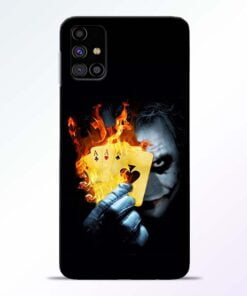 Joker Shows Samsung Galaxy M31s Mobile Cover - CoversGap